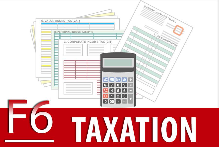 F6 Taxation