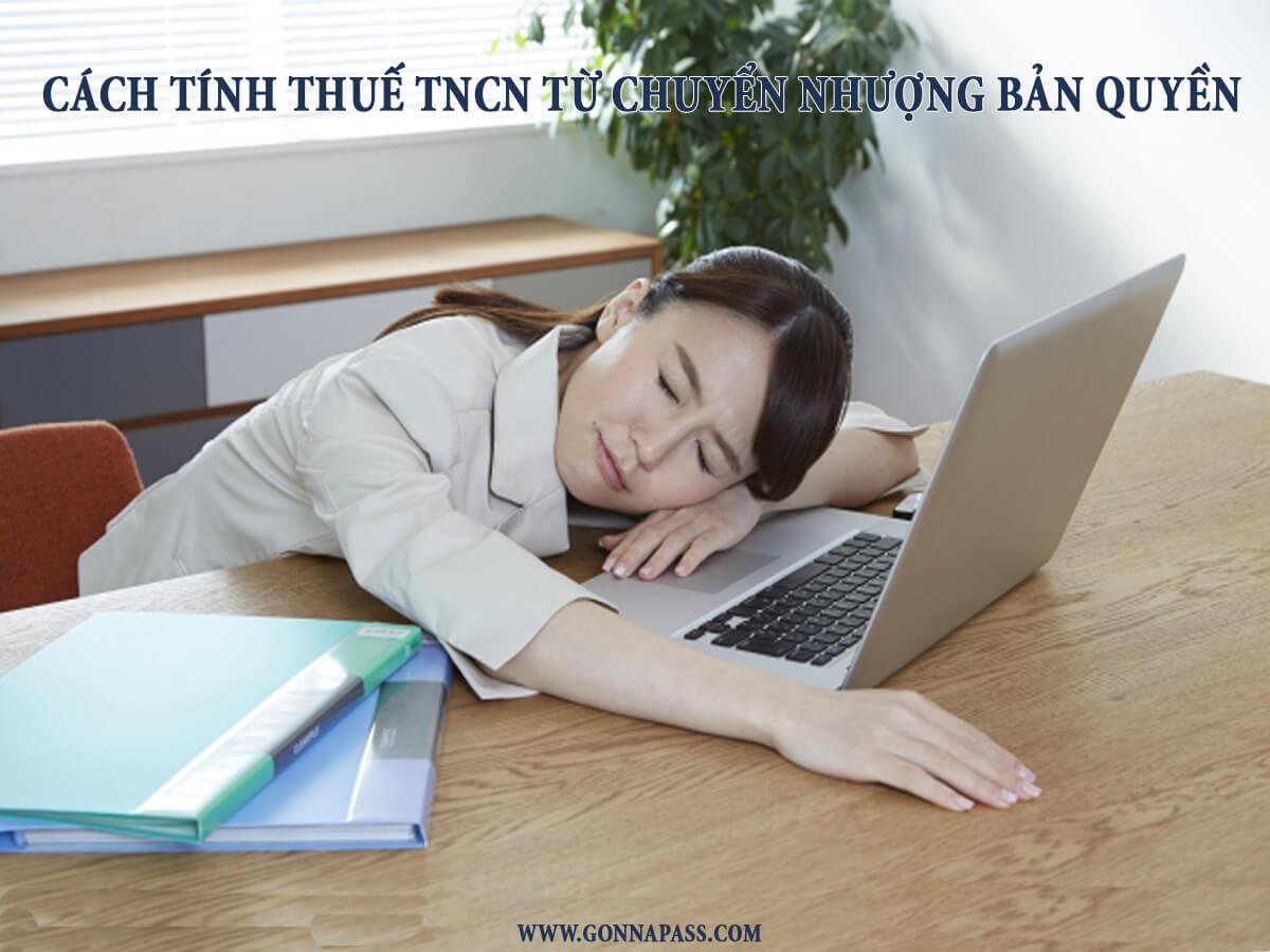[Bạn hỏi – Gonna Pass trả lời ] Cách tính thuế TNCN từ chuyển nhượng bản quyền