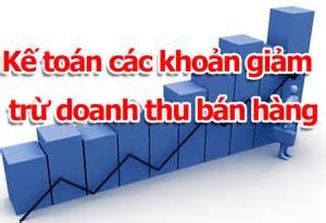 Nguyên tắc kế toán và chính sách thuế các khoản giảm trừ doanh thu theo thông tư 200/2014/TT-BTC