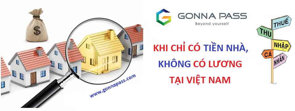 Thuế TNCN: Chi phí tiền nhà khi không có lương tại Việt Nam