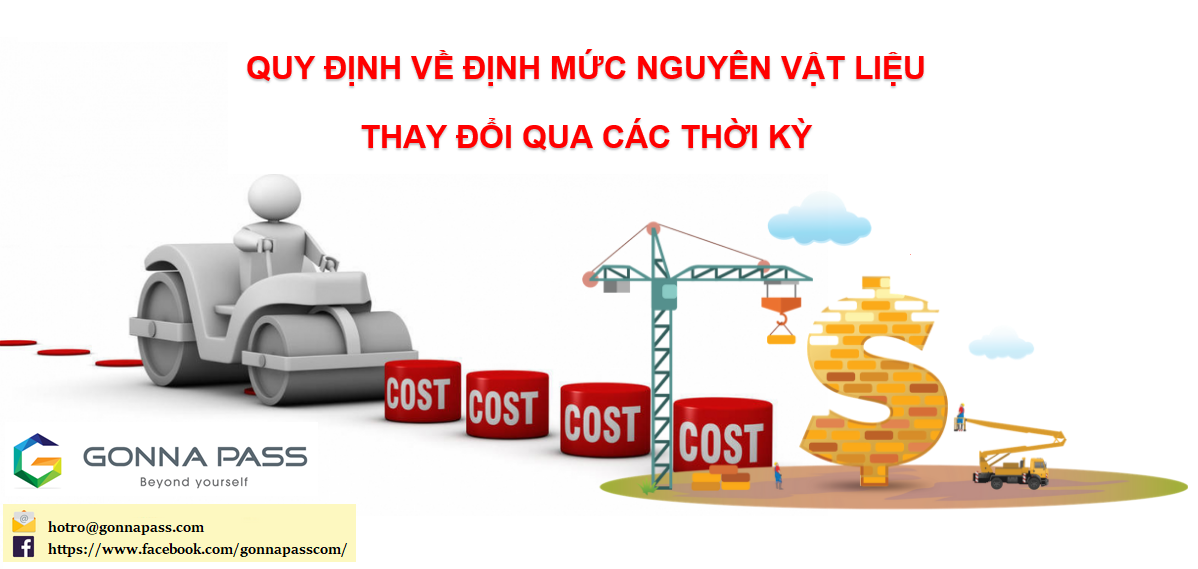 [Cập nhật] Quy định về định mức chi phí nguyên vật liệu qua các thời kỳ