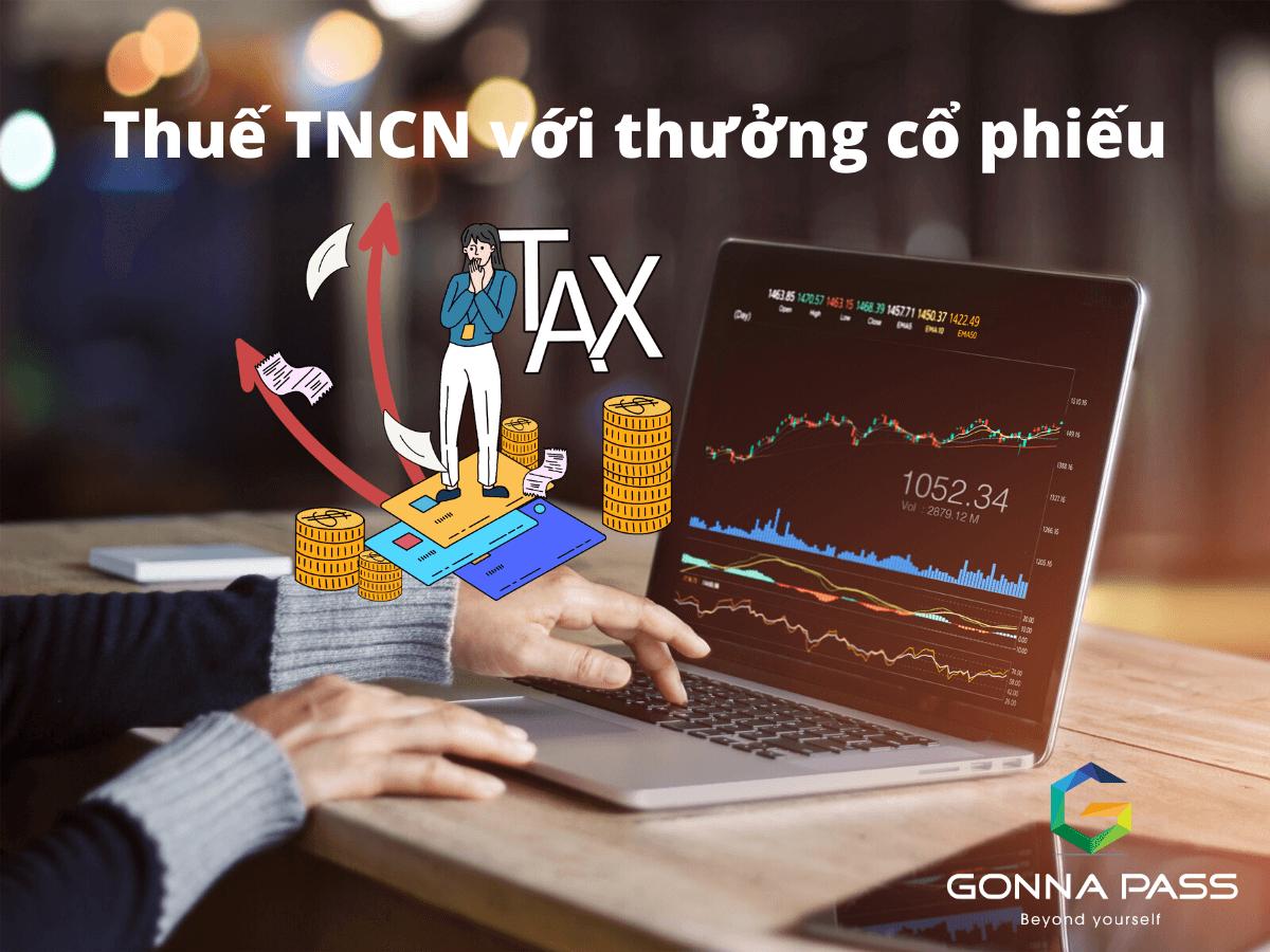 Thuế TNCN với thưởng cổ phiếu