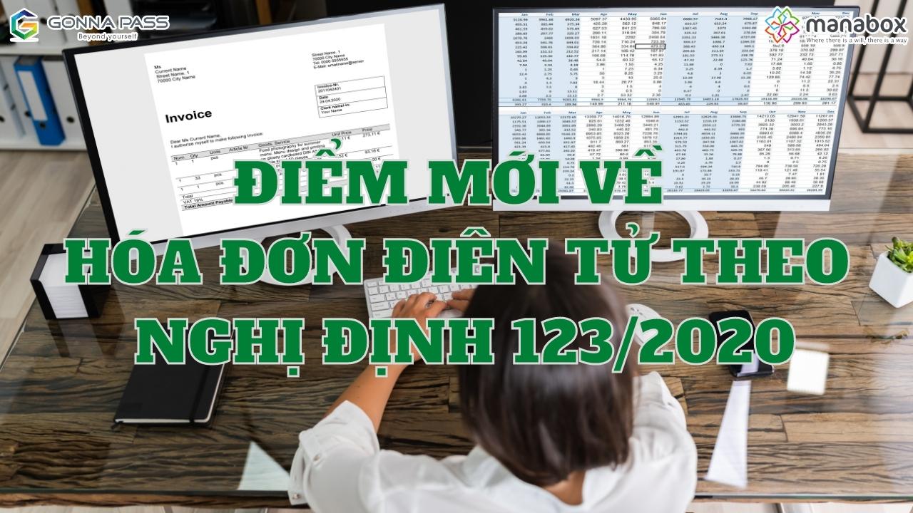 Điểm mới về hóa đơn điện tử theo Nghị định 123/2020