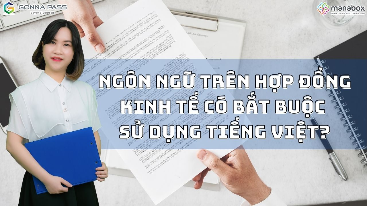 Ngôn ngữ trên Hợp đồng kinh tế có bắt buộc sử dụng tiếng Việt